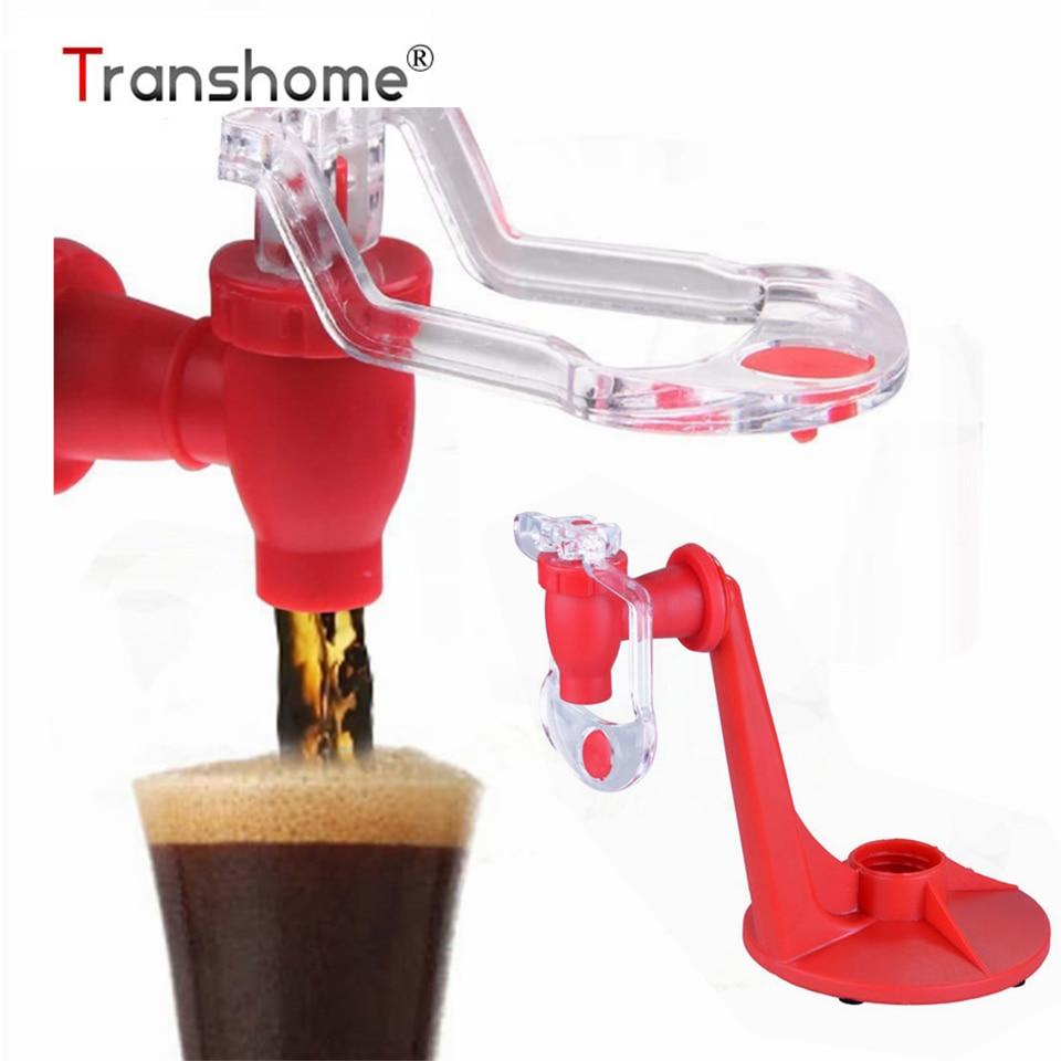 Transhome Ръчна преса бутилки вода чайници дозатор клапан Fizz сода напитки превключвател Saver напитки хладилник