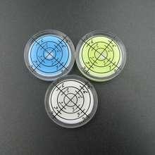 ที่ขายดีที่สุด!! 32*7มิลลิเมตรสีขาวสีเขียวสีฟ้าสีเป้าระดับฟองรอบระดับฟองอุปกรณ์เสริมสำหรับเครื่องมือวัด