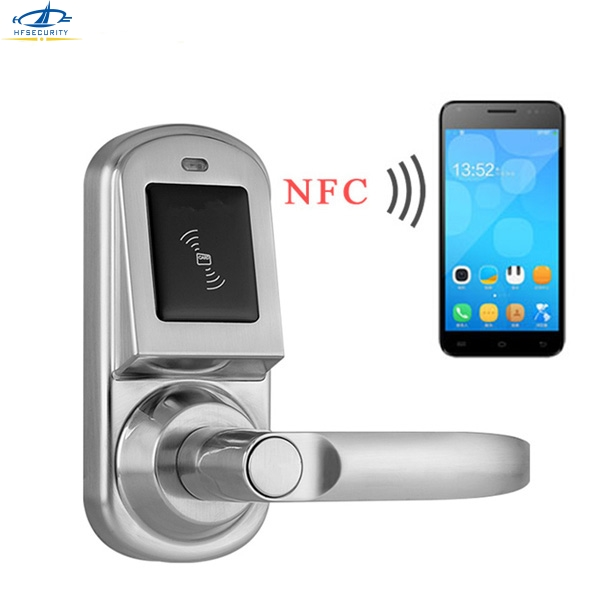 Hfsecurity English App Nfc Door Lock Android Smart Phone