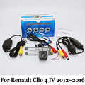 For Renault Clio 4 IV 2012~2016 / Car Wired Or Wireless Rear View Camera / RCA HD CCD Night Vision / Wide Lens Angle Camera