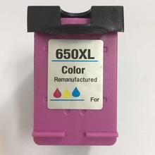 vilaxh 650 xl Remanufactured Ink cartridge Compatible for hp 650XL Deskjet 1015 1515 2515 2545 2645 3515 4510 4515 printer