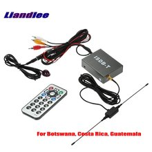 Liandlee For Country Botswana, Costa Rica, Guatemala Car Digital TV Receiver Host  ISDB-T Mobile HD Turner / Model T502