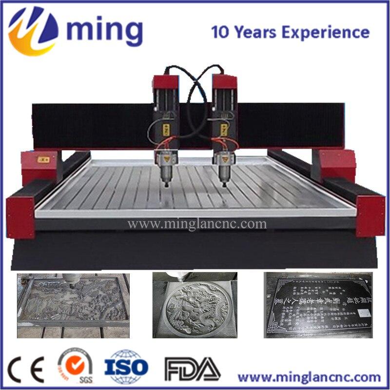 Cheap! stone cnc router 1325 / 3D granite stone cutting / cnc marble stone engraving machine/ Minglan cnc machine