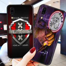 Yinuoda Phone Case For Ajax Team Huawei P9 lite P10 Shell DIY Case Frenkie de Jong For P8 lite 2017 mate 10 P30 lite NOVA lite merida big nine lite team issue 2013