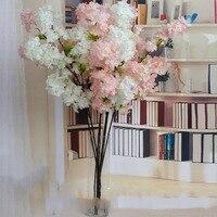 Свадебные DIY искусственных гирлянды моделирования Cherry Blossom букет свадебная АРКА украшения Home Decor фестиваль поставки