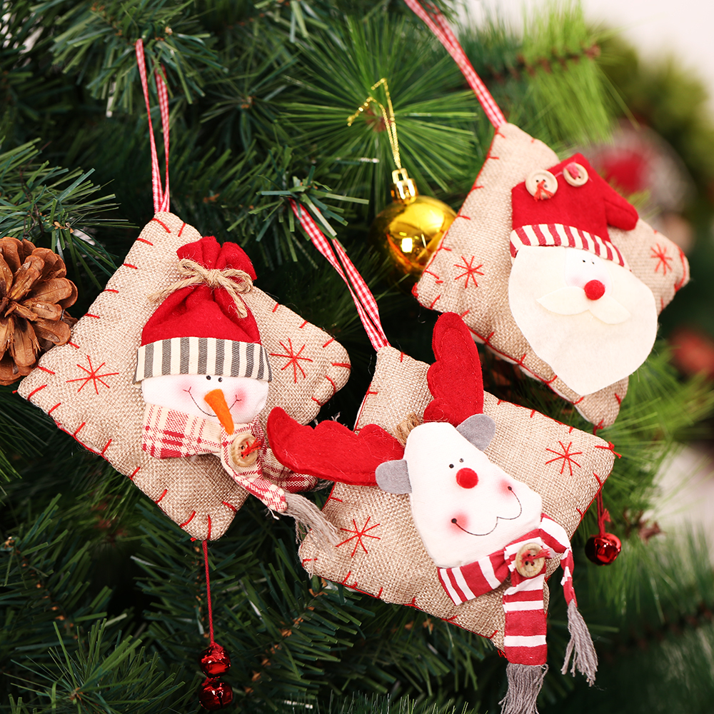 Christmas Decorations Small Gifts Pendant Christmas Tree Ornaments ...