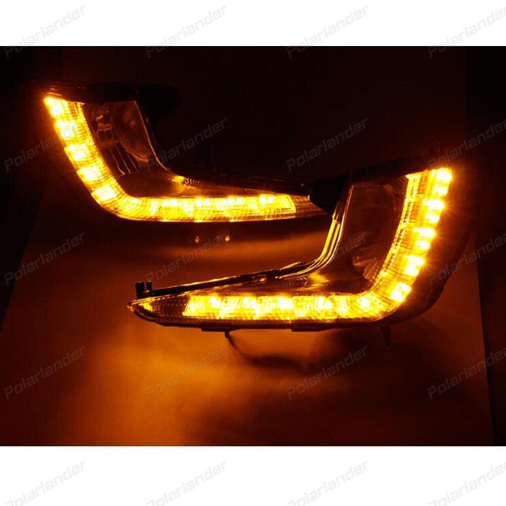 Car styling daytime running lights for  K/ia K/2 R/IO 2011-2013 waterproof 2 pcs led