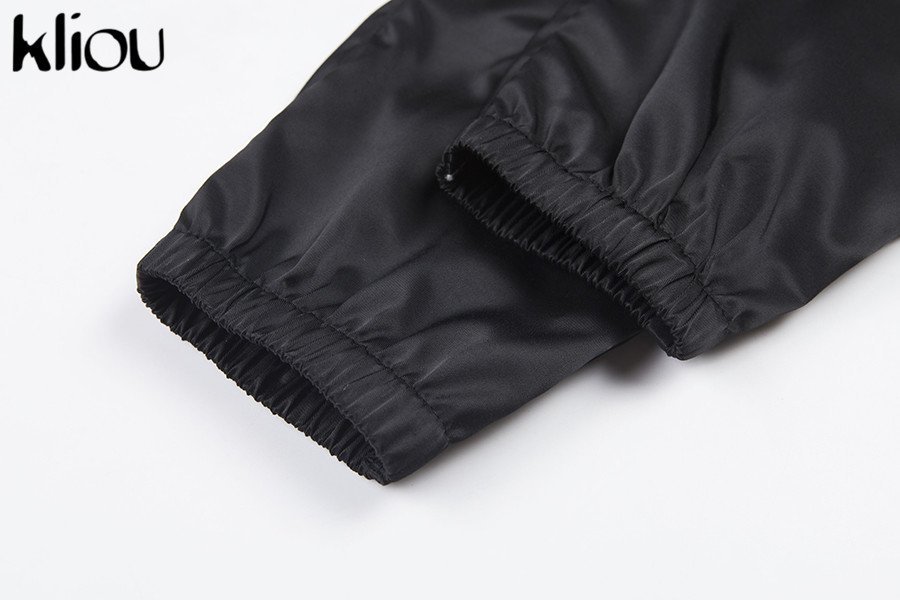 HTB1RRgSafvsK1RjSspdq6AZepXaF - Kliou women fashion street Reflective patchwork cargo pants 2019 new arrival zipper fly with sashes pockets knitted trousers