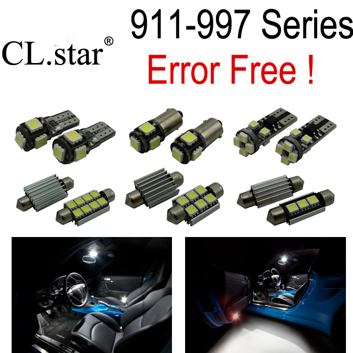 20pc X Canbus Error free For Porsche 911 997 series LED lamp Interior Light Kit Package (2005-2011) bluetooth elm327 obd2 diagnostic scanner with power switch