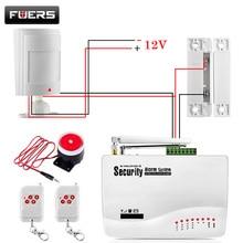 Gsm сигнализация Системы для дома безопасности Системы с проводной PIR/датчик двери двойной Телевизионные антенны охранной сигнализации