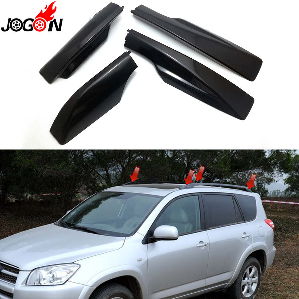 For Toyota Rav4 2007 2008 2009 2010 2011 2012 Roof Rack Rail With 1 Avanza 4p Xa30 2006 Black Car Styling
