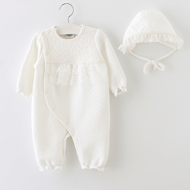Baby girl clothes new arrival 2017 spring princess 100% cotton formal dress infant ropa de bebe onesie outfit newborn rompers newborn baby rompers baby clothing 100% cotton infant jumpsuit ropa bebe long sleeve girl boys rompers costumes baby romper