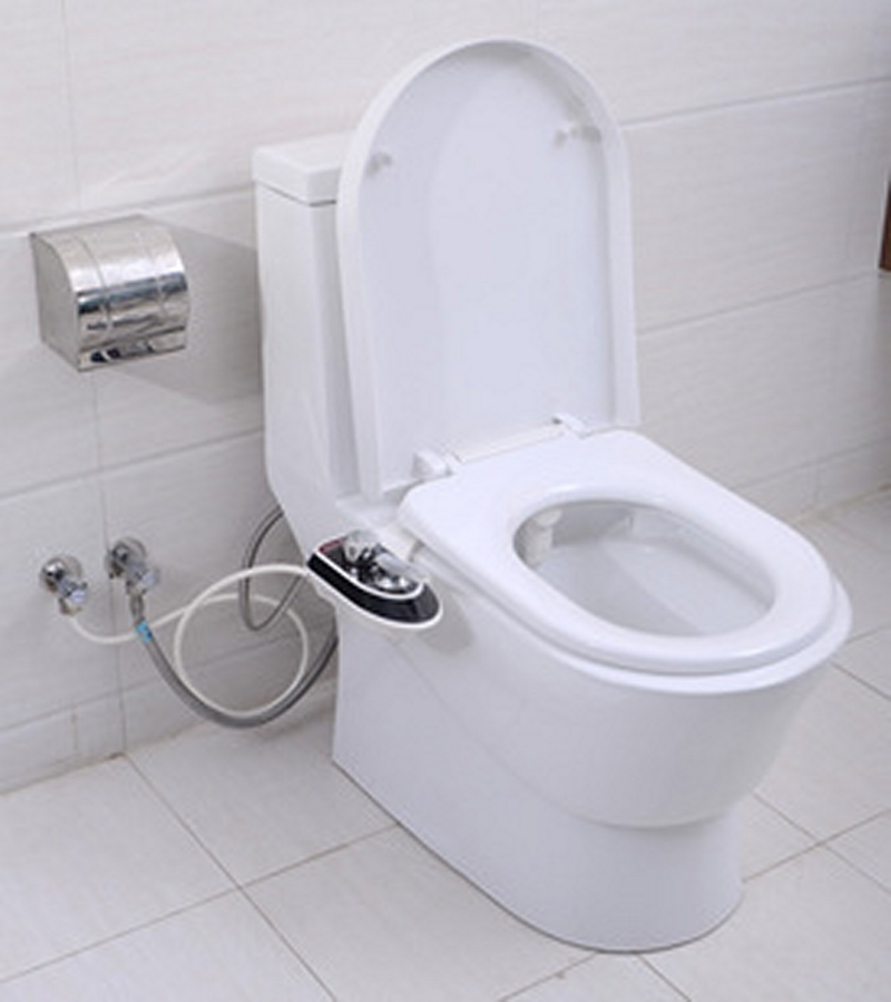 Luxurious hygienic bathroom toilet bidet eco friendly and easy to install high tech toilet seat Bathroom toilet installation