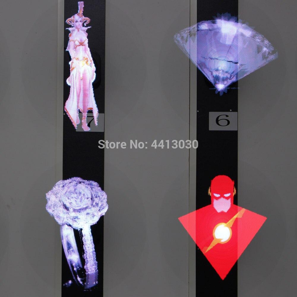 Projecteur holographique d'hologramme de l'annonceur 3d de logo de ventilateur d'air a mené la lampe de gobo - 5