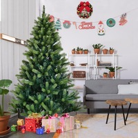 1 2 1 5 1 8 2 1M Encryption Artificial Christmas Tree With Stand 2018 New