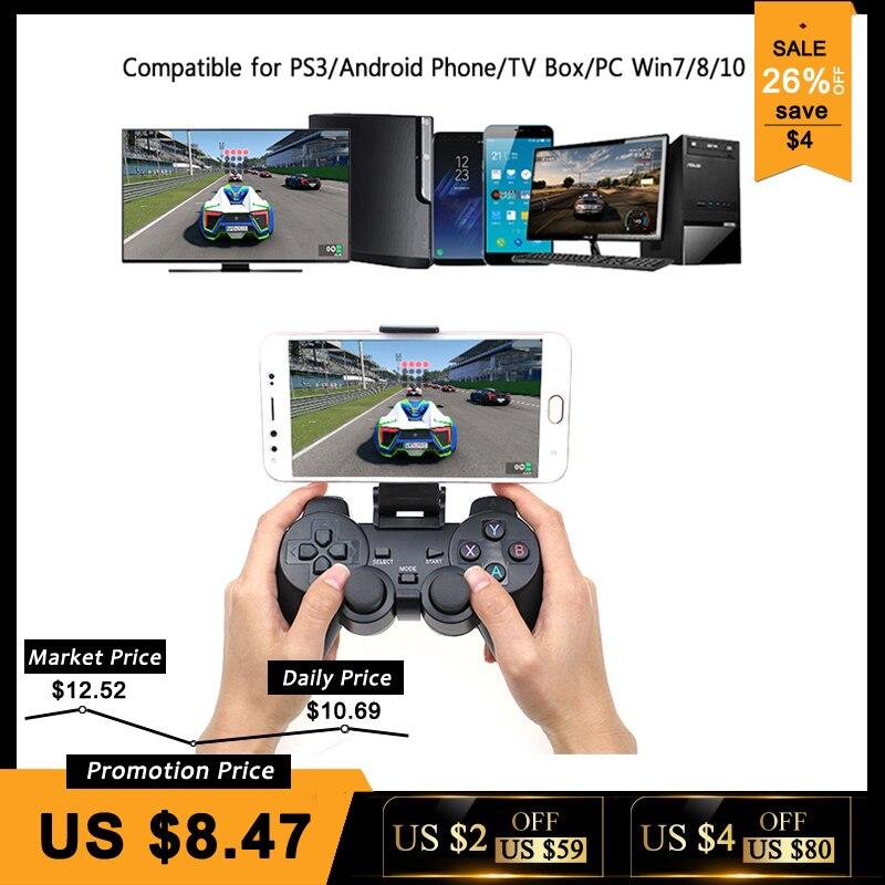 Android Wireless Gamepad Für Android-Handy/PC/PS3/TV Box Joystick 2,4g USB Joypad Game Controller für Xiaomi Smart Telefon