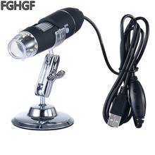 FGHGF K9 500X Magnifying Glass Electronic Magnifier Handheld Microscope USB PCB Soldering Repair Tool Usb