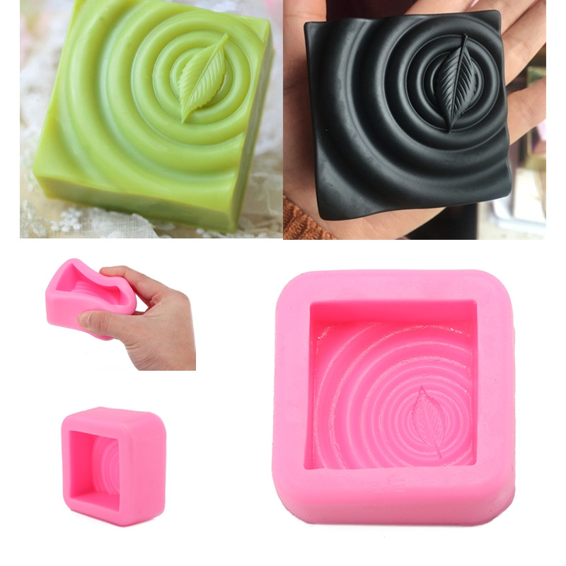 3 pcs Flexible Silicon Soap Molds Candle Making Cup Cake Muffin Mould