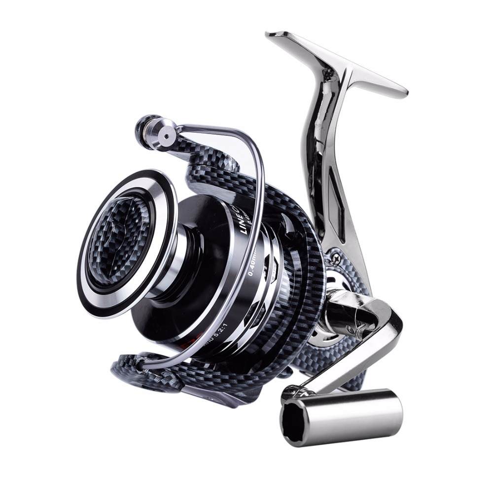 Nunatak Fishing Reel FDDL DE 9000 10000 Full Metal Spinning Reel Fishing 5.2: 1 4.9: 1 13BB Long Wide Wheel Casting Wheel