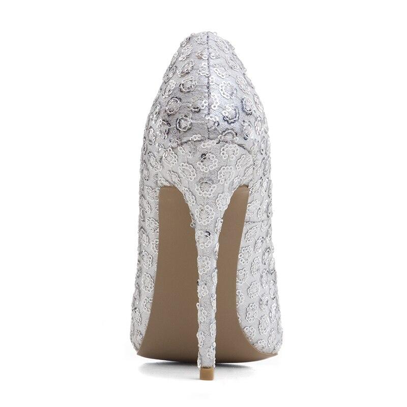 Slip Talons Cm Stiletto Extreme Femme 2017 Taille Dentelle 40 10cm 12 Mariage Haute Nouveau Robe De Arden 45 La 12cm Sur Furtado Pompes Plus Blanc Chaussures Parti W0vPCC