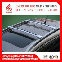 High quality 1 Pair load goods Aluminium alloy universal SUV roof cross bar for Evoque IX35 XV ect SUV car have roof rack n gap