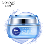 BIOAQUA Brand Hyaluronic Acid Moisturizing Face Cream Improve Dry Skin Anti Wrinkle Anti Aging Collagen Whitening
