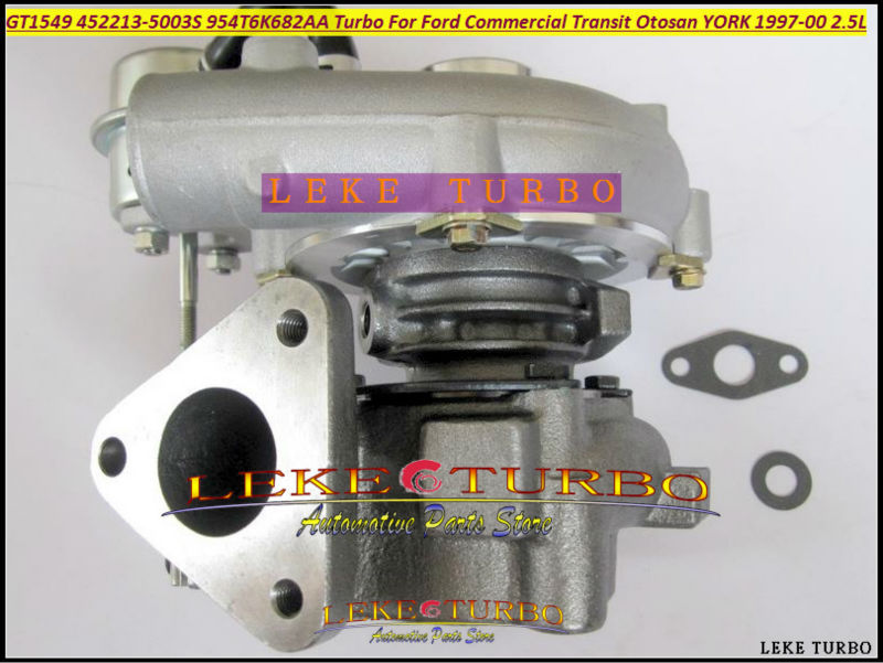 GT1549 452213-5003S 452213-0002 452213-0003 452213-0001 452213 954T6K682AA Turbo For Ford Transit van 96-00 For Otosan YORK 2.5L gt2556s 711736 711736 0003 711736 0010 711736 0016 711736 0026 2674a226 2674a227 turbo for perkin massey 5455 4 4l 420d it
