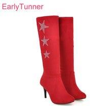 Red Studded Boots Koop Goedkope Red Studded Boots loten van