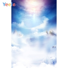Yeele Cloud Sky Sunshine Top Mountains Photographic Backgrounds Professional Camera Photography Backdrops For The Photo Studio
