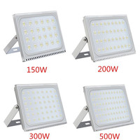 1PCS Ultrathin LED Flood Light 150W 200W 300W 500W IP65 110V/220V LED Spotlight Refletor Outdoor Lighting Wall Lamp Floodlight