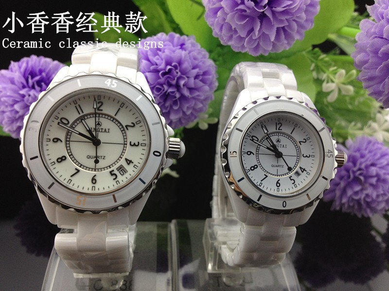 Pottery classic couple watch men and font b women b font the real high end brand