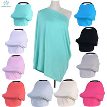 New Baby Nursing Cover Solid Color ,Shopping Cart, High Chair Car Seat Canopy,Multi Use Breastfeeding Cover Up Stroller Carseat