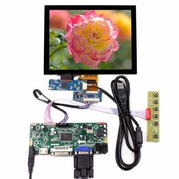 "8"" EJ080NA-04C 1024x768 8inch Capacitive Touch LCD Screen HDMI DVI VGA AUDIO LCD Controller Board VS080TC-A1"