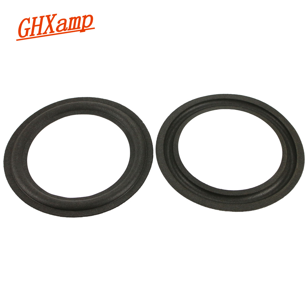 GHXAMP 6 Inch 155mm 105mm Speaker Suspension Foam Side Edge Woofer Speaker Repair Parts Folding Ring 2pcs