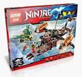 LEPIN 06028 Manter Ninjagoed Marvel Modelo Kits Ninja Building Block Brinquedos