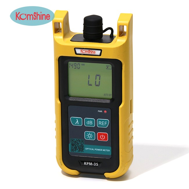 Optic fiber power meter KomShine KPM-35 FTTH fiber cable tester w/ Silicone case