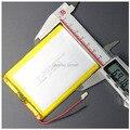Para tablet pc de 7 pulgadas MP3 MP4 [357095] 35mm * 70mm * 95mm 3.7 V 4000 mah (batería de iones de litio polímero) li-ion Envío Gratis