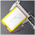 for tablet pc 7 inch MP3 MP4 [357095] 35mm*70mm*95mm 3.7V 4000mah (polymer lithium ion battery) Li-ion battery Free Shipping