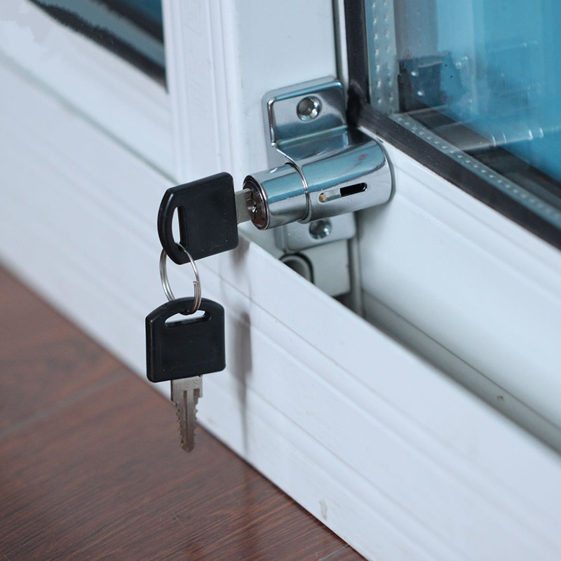 Slide Lock For Glass Door: Plastic Steel Door Window Locks Child Safety Lock Sliding