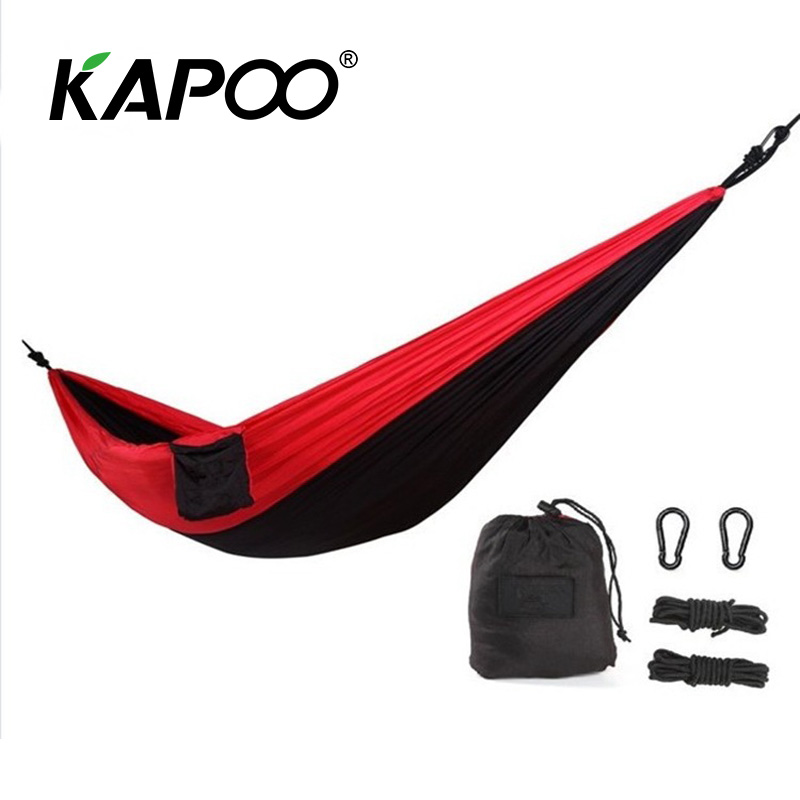 200*90cm outdoor leisure parachute hammock outdoor furniture outdoor hammock picnic mat camping hammock temporary bed blue leisure outdoor hammock portable parachute hammock outdoor furniture single double hammock picnic mat camping hammock