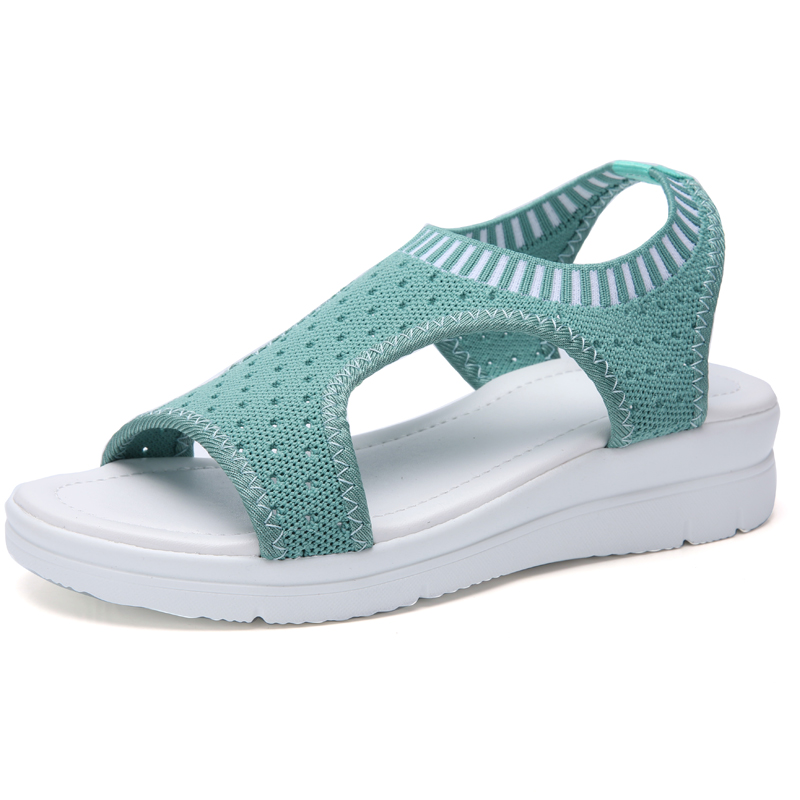 ZUNYU New 9 colors Woman Flat Summer Shoes Fashion Women s Sandals Wedge Comfortable Sandals Ladies ZUNYU New 9 colors Woman Flat Summer Shoes Fashion Women's Sandals Wedge Comfortable Sandals Ladies Sexy Sandals Plus Size 35-45