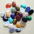 2015 fashion natural stone mixed Oval CAB CABOCHON for Jewelry&Clothes Accessories 13x18mm  wholesale 30pcs/lot  free shipping