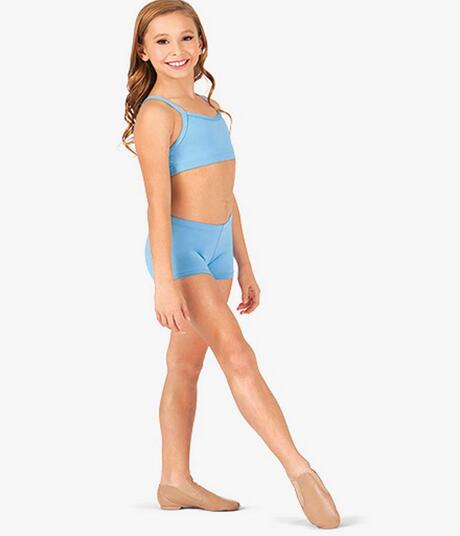 Little Girl Shorts Toddler Girls Tops Ballet Gymnastic Hot -6735