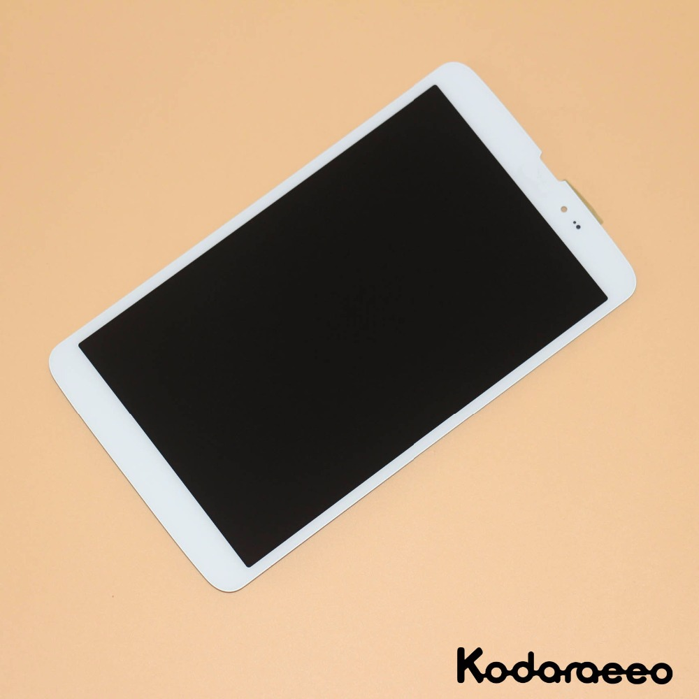 kodaraeeo For <font><b>LG</b></font> G Pad 8.3 <font><b>V500</b></font> <font><b>Touch</b></font> <font><b>Screen</b></font> Digitizer Glass+LCD Display Assembly Panel Replace 3G Version White image