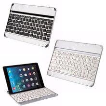 Ультра-тонкий беспроводной алюминий bluetooth клавиатура таблетки подставка для apple ipad air 9.7 дюйма q99 xxm