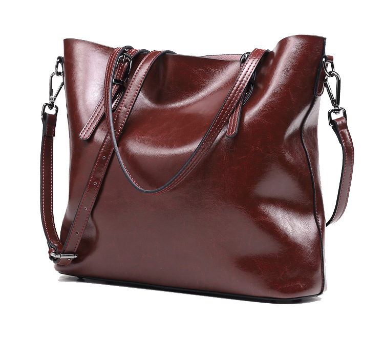 CHISPAULO Leather Handbags Luxury For Women Vintage Women's Shoulder Bags Bolsa Femininas Oil Wax Leather Handbag new T351