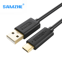 SAMZHE USB C Type C to USB Cable Reversible Cellphone Charging Data Type-C Cable,Fast Charging Cable for Huawei Xiaomi Oneplus