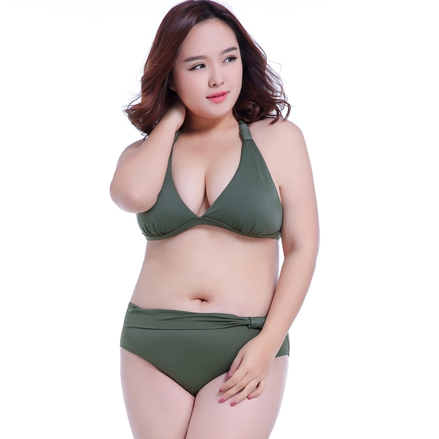 99fef796953 Swimwear for Fat Women 2019 Summer Swimuit Female Super 7XL Bathing Suits  Big Bras E F G H Push