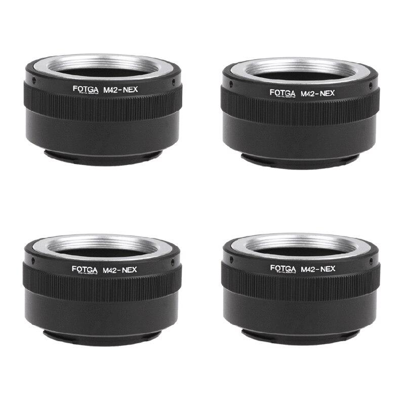 4X Fotga M42 Adaptateur Anneau pour Sony NEX e-mount NEX NEX3 NEX5n NEX5t A7 A6000