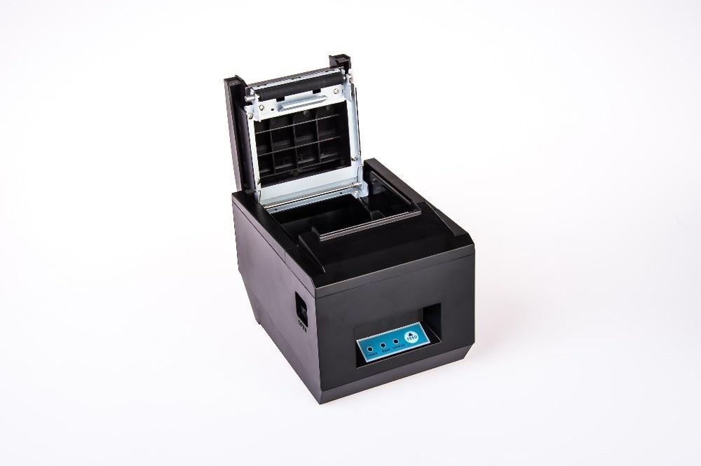 RD-8250 Термопринтер за черно-бял стил USB - Офис електроника - Снимка 4